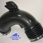C7 Z06  14-UP Lamination Black Carbon Supercharge Air Intake Tube (Core Exchange)  ($898.00 + Refundable Core Charge $200.00) (High Gloss or Matte Finish)