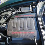 C7 14-UP Lamination Black Carbon Engine Center Top Cover (Pendum Cover) (Core Exchange) ($598.00 + Refundable Core Charge $200.00) (High Gloss or Matte Finish)