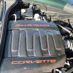 C7 14-UP Lamination Black Carbon Fuel Rail Cover w/Lettering, 2 pcs/set (Core Exchange) ($698.00 + Refundable Core Charge $150.00) (High Gloss or Matte Finish)