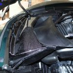C7 14-UP Lamination Black Carbon Radiator Air Duct, Carbon on Both Inside and Outside (Core Exchange)  ($898.00 + Refundable Core Charge $100.00) (High Gloss or Matte Finish)