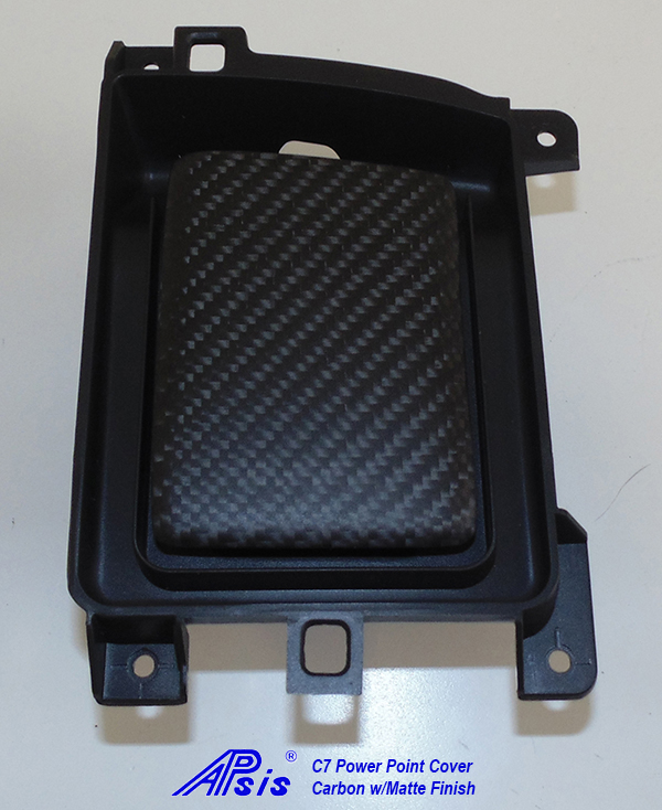 C7 14-UP Lamination Black Carbon Power Point Cover, with Standard or Reverse Weaving (Core Exchange) ($98 + Refundable Core Deposit $75)  (High Gloss or Matte Finish)