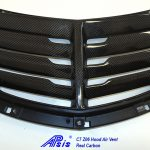 C7 or C7 Z06 14-UP Lamination Black Carbon Hood Air Vent (Core Exchange for C7)  ($798.00 + Refundable Core Charge $225.00 for C7) or (898.00 for Z06 - Replacement Parts) (High Gloss or Matte Finish)