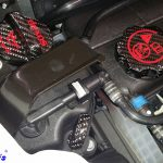 C7 14-UP Lamination Black Carbon Master Cylinder Cap (Core Exchange)  ($128.00 + Refundable Core Charge $30.00) (High Gloss or Matte Finish)