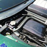 C7 14-UP Lamination Black Carbon Radiator Reservoir Cover (Overlay)  (High Gloss or Matte Finish) $468.00