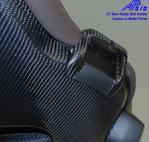C7 14-UP Lamination Black Carbon Safety Belt Holder, 2 pcs/set ($368.00 + Refundable Core Charge $100.00) (High Gloss or Matte Finish)