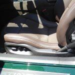 C7 14-UP Lamination Black Carbon Seat Wrap Around Power Switch Bezel, 2 pcs/set ($868.00 + Refundable Core Charge $150.00) (High Gloss or Matte Finish)