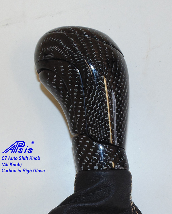 C7 14-UP Lamination Black Carbon Auto SK Whole Knob ($388.00 + Refundable Core Charge $125.00) (High Gloss or Matte Finish)