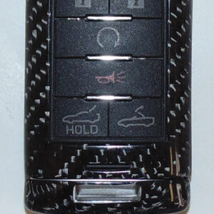 C7 14-UP Carbon Key Fob (Overlay) 3 pcs/kit, (High Gloss or Matte Finish) $138.00