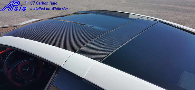 C7 14-UP Lamination Black Carbon Halo (Starting from $698.00 + Refundable Core Charge $300.00) (High Gloss or Matte Finish)