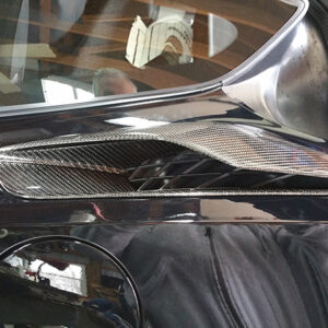 C7 Z06 15-UP Lamination Black Carbon Rear Side Air Vent Upper, (Core Exchange)  (Starting from $448.00 + Refundable Core Charge $150.00)