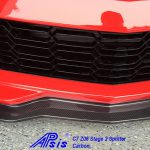 C7 Z06 15-UP, Replica Stage 2 Front Splitter Wiinglets Only, 2 pcs/set, Matte Black (Carbon Flash, High Gloss Carbon or Matte Finish Carbon)  Starting from $268.00
