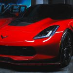 C7 Z06 15-UP, Replica Stage 3 Front Splitter, 3 pcs/set, Matte Black (Carbon Flash, High Gloss Carbon or Matte Finish Carbon)  Starting from $998.00