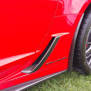 C7 Z06 15-UP Rear Front Guard, (Matte Black, Carbon Flash, High Gloss Carbon or Matte Finish Carbon) Starting from $288.00
