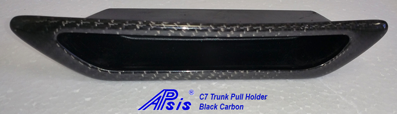 C7 14-UP Lamination Black Carbon Trunk Pull Handle (Core Exchange)  ($368.00 + Refundable Core Charge $30.00) (High Gloss or Matte Finish)