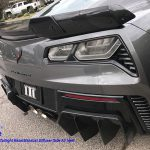 C7 Z06 15-UP, Replica Stage 2 Spoiler, 3 pcs/set, Matte Black (Carbon Flash, High Gloss Carbon or Matte Finish Carbon)  Starting from $698.00