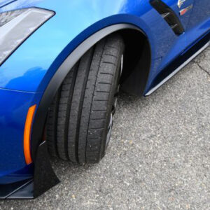 C7 Z06 Style Spat Fit for Standard C7, (Starting from $228.00 per pc) (Matte Black, Carbon Flash, High Gloss Carbon or Matte Finish Carbon)
