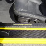 C6 05-13 Lamination Black Carbon or Silver Carbon Power Seat Switches Knob, 4 pcs/set (Core Exchange)  ($198.00 + Refundable Core Charge $30.00)