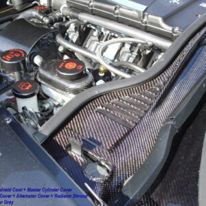 C6 05-13 Lamination Black Carbon or Silver Carbon Master Cylinder (Core Exchange)  ($395.00 + Refundable Core Charge $80.00)