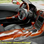 C6 05-13 Lamination Burlwood, Black Carbon or Silver Carbon Armrest (Core Exchange) (Starting from $395.00 + Refundable Core Charge $130.00)