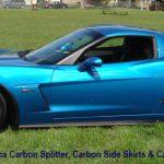 C6 Z06/GS/ZR1 06-13 Matte Black, Black Carbon or Silver Carbon ZR1 Replica Splitter, (Starting from $698.00)