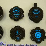 C6 05-13 Lamination Black Carbon or Silver Carbon Master Cylinder Cap (Core Exchange)  ($125.00 + Refundable Core Charge $30.00)