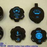 C6 05-13 Lamination Black Carbon or Silver Carbon Overflow Tank Cap (Core Exchange)  ($125.00 + Refundable Core Charge $30.00)