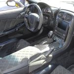 C6 05-13 Lamination Burlwood, Black Carbon or Silver Carbon Shift Knob Top Cap, Auto or Stick Shift (Core Exchange)  (Starting from $108.00 + Refundable Core Charge $50.00)
