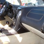 C6 05-13 Lamination Burlwood, Black Carbon or Silver Carbon Right Floor Console (Core Exchange)  (Starting from $675.00 + Refundable Core Charge $85.00)