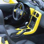 C6 Corvette 05-13, Painted Speedo Corners (Overlay)