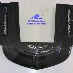 C6 ZR1 10-13 Black Carbon or Silver Carbon ZR1 Engine Shroud Cover with or without Blue Panel (Replacement Parts) ($1,888.00)
