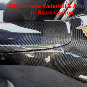 C6 05-13 Lamination Burlwood, Black Carbon or Silver Carbon Waterfall (Floor Console Base), without Lock, with Lock or with MP3 (Core Exchange)  (Starting from $898.00 + Refundable Core Charge $250.00)