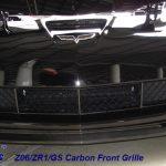 C6 05-13 Lamination Black Carbon or Silver Carbon Front Grille (Regular C6 or Z06) (Core Exchange)  ($750.00 + Refundable Core Charge $150.00)