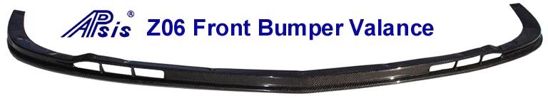C6 05-13 Lamination Burlwood, Black Carbon or Silver Carbon Z06 Front Splitter (Core Exchange) ($1,288.00 + Refundable Core Charge $150.00)