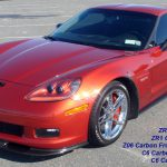 C6 Z06/ZR1 06-13 Lamination Black Carbon or Silver Carbon Z06/ZR1 Front Front Guard (Front Wheel Front Side Mud Flap) or Front Rear Guard (Front Wheel Rear Side Mud Flap) (Core Exchange)  (Starging From $850.00 + Refundable Core Charge $100.00 for each pair)